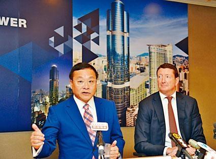 第一太平戴維斯大中華行政總裁李偉文表示,朗豪坊辦公大樓目標銷售對象為在本港有資金的內地國企。