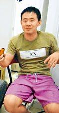 王夕越〇九年攝於香港的公寓單位內。