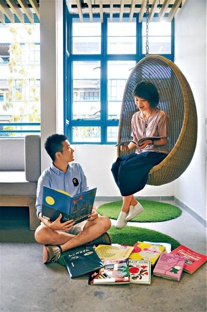 元創坊將舉行《繪本小島》展覽及工作坊,Book B、綠腳丫親子讀書會及多個PMQ創意單位將參與其中。