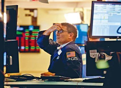 美股上周五略為回穩,但三大指數全周跌幅均過過百分之一。