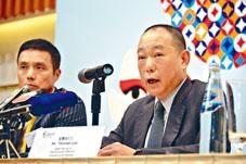 利福月前出售利福地產近六成股權,予福州三盛投資創辦人林榮濱。圖為利福主席劉鑾鴻。