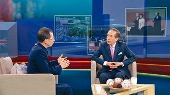 李國章接受曾鈺成訪問時,建議由泛民向政府提出為二十三條立法。