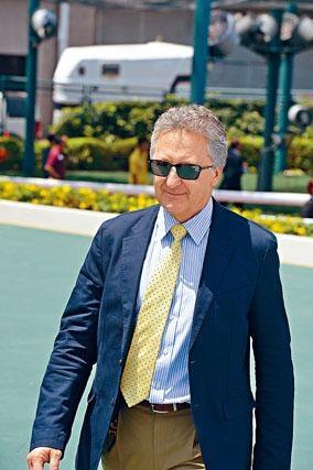 霍利時表示開季後不會操之過急,待馬匹狀態操起才全力出擊。