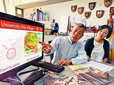 中大建築學教授吳恩融指,他們一四年起到雲南、廣西等地,開展「一專一村」農村可持續發展支援計畫。