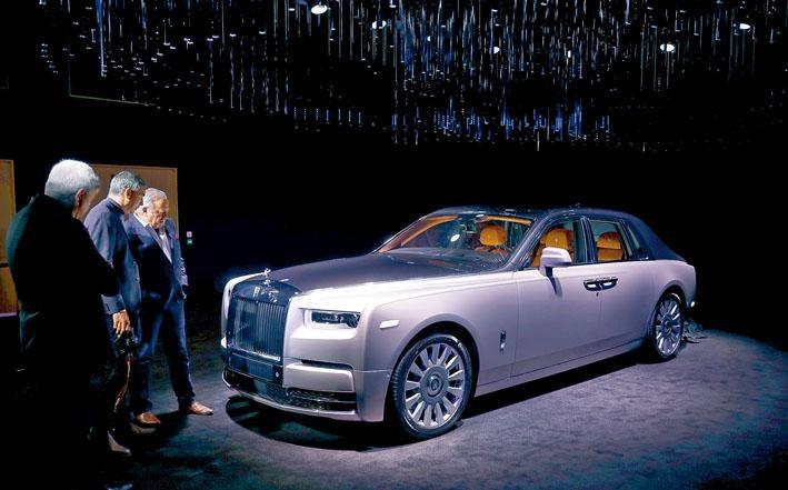 新Phantom VIII在9月德國法蘭克福車展正式現身,亞洲區預覽活動預定10月東京舉行。