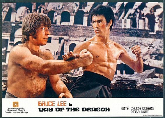李小龍的男兒氣概和堅定眼神,敢於接受挑戰和考驗。