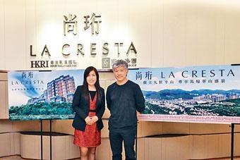 香港興業陳秀珍表示,尚珩最快周內上樓書及開放示範單位。