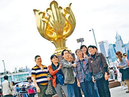 今年訪港旅客量踏升軌。