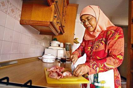家住組屋的哈莉瑪曾表示,若當選希望能繼續住組屋。