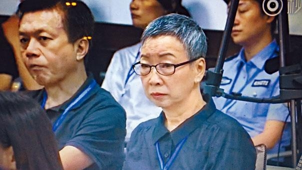 李明哲母親前天在湖南旁聽審訊。