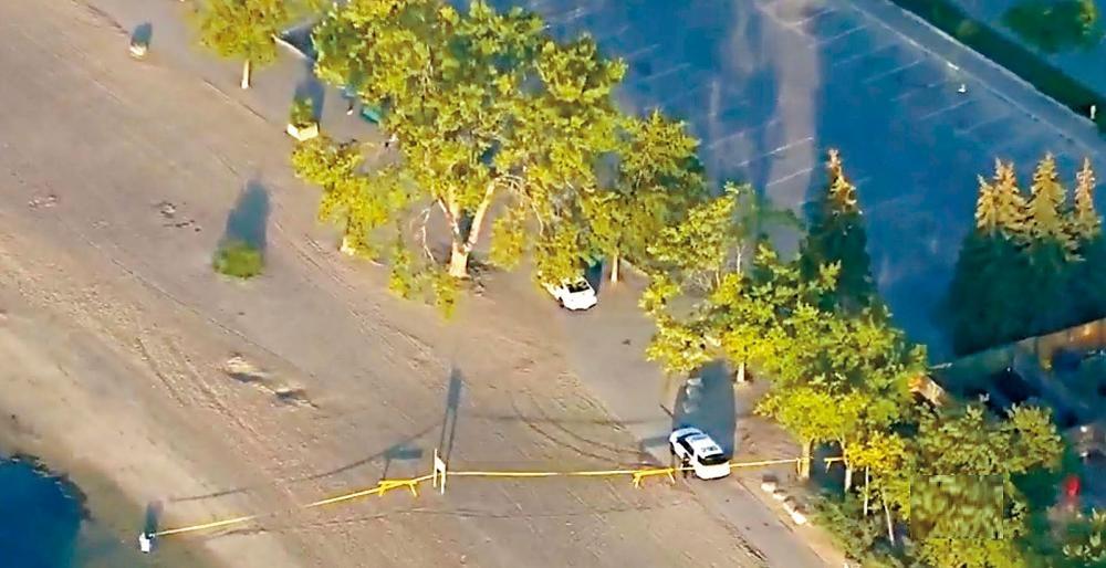 警方封鎖發現屍體的現場調查。   CTV