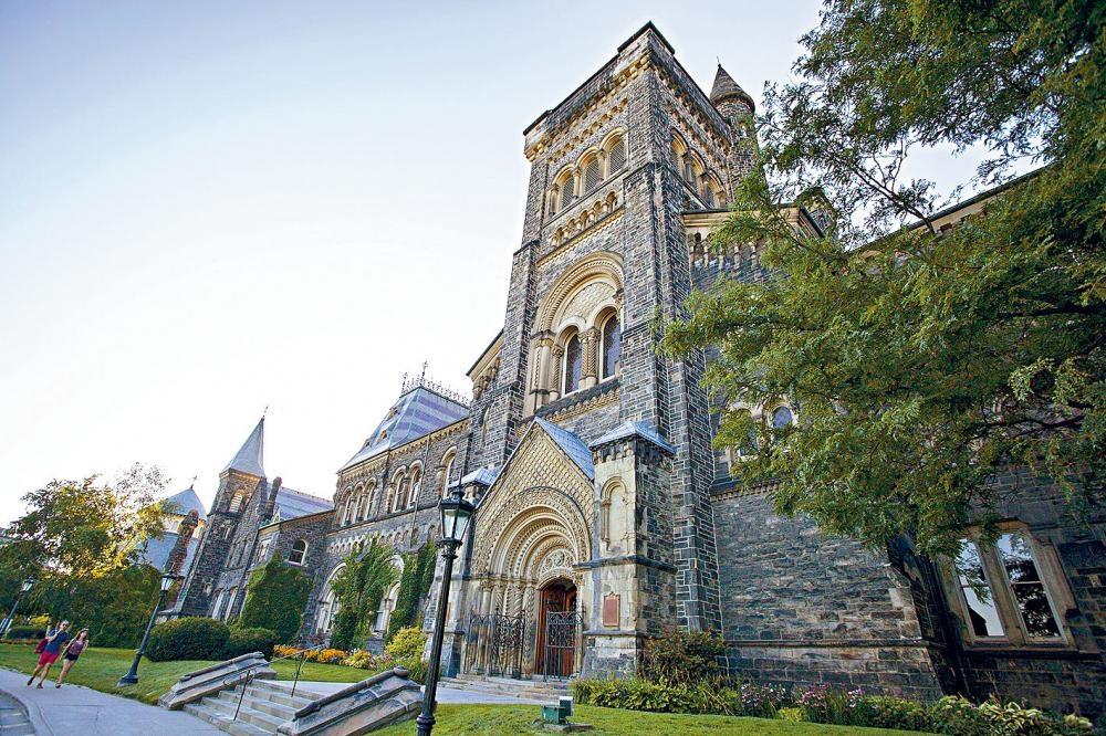 多倫多大學今年排名連升3級,位列全球第15位。資料圖片