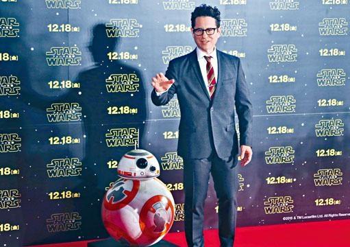 J.J.阿伯拉罕將第二次執導《星戰》電影。