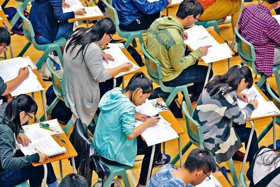 數學是核心科目中,唯一可以靠操練而獲取好成績的科目。
