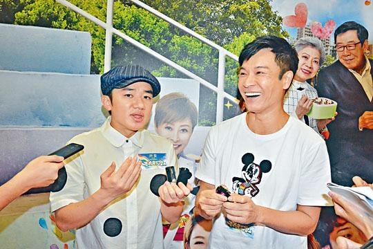 祖藍與郭晉安等開始為新一輯《老表》宣傳。