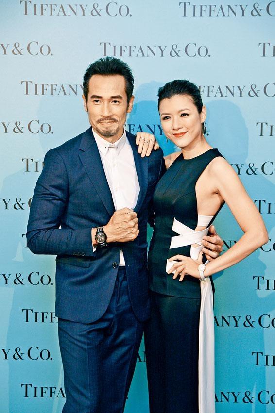 陳豪及陳茵媺夫婦佩戴總值$1,001,400腕表和首飾。