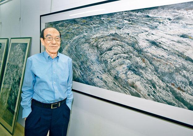 《永恆之水:王無邪》以「水」自況,是王無邪近十年來首次個人作品展。