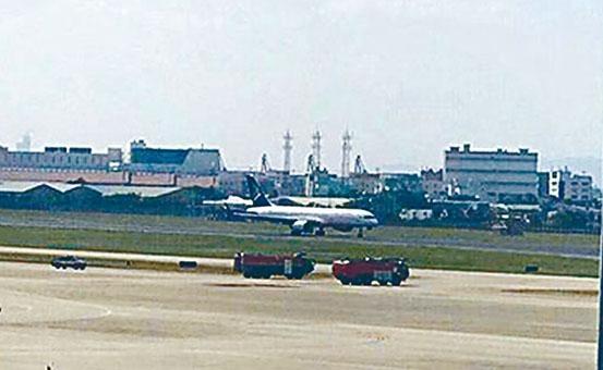 哈薩克客機安全降落廈門機場。