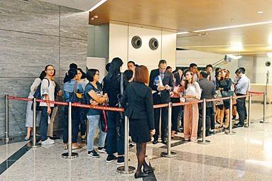 晉海昨推出10個大戶發售,市場指,已全數沽出。