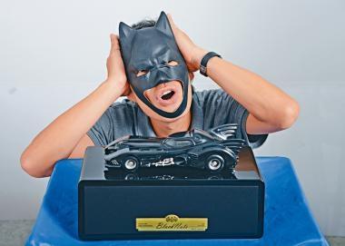 蝙蝠車+真空管  藍牙喇叭 英雄現型