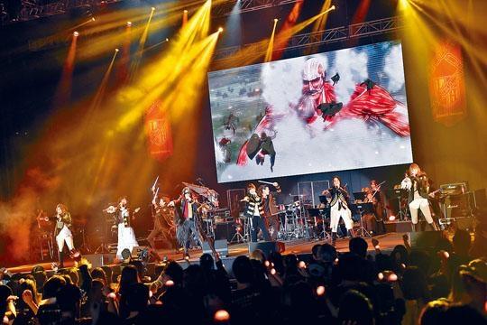 Linked Horizon來港開騷,唱盡《進擊》的歌曲。