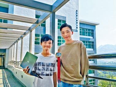 就讀中大工程學院的黃梓駿及黃亦駿,均希望可主修計算機科學,繼續鑽研編程知識。