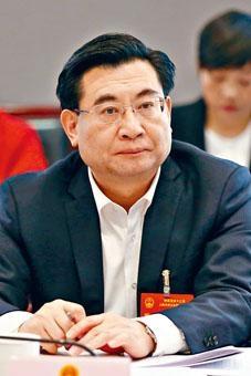 胡和平升任陝西省委書記。