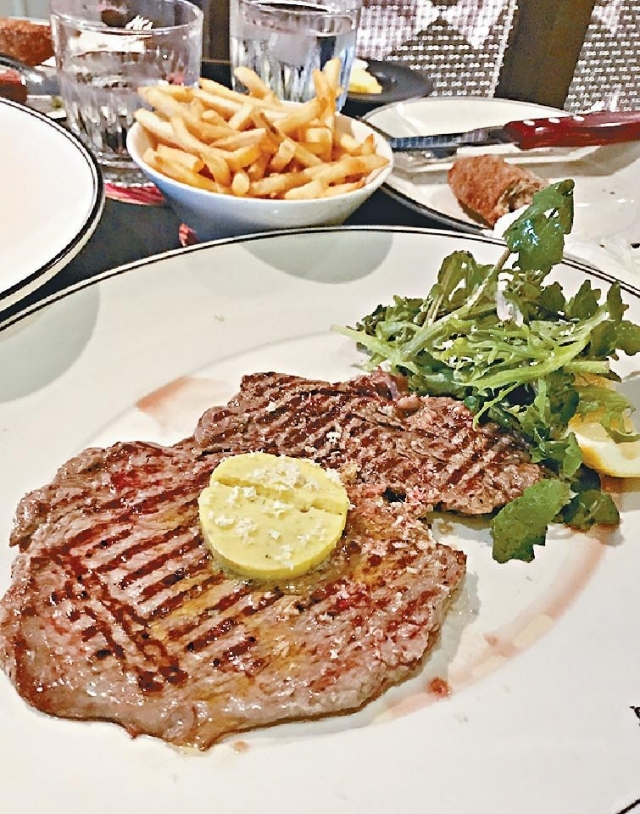 ■Rib Eye Minutes Steak(35澳元180g/約210港元/c)