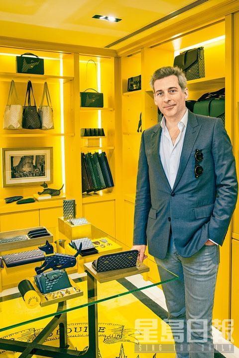 品牌現任總經理兼創意總監Augustin de Buffévent,早前來港見證設於尖沙嘴JOYCE的Pop-up店開幕。