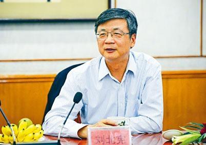 中新社原社長劉北憲被開除黨籍。