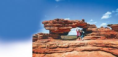 西澳行山  觀奇石美景