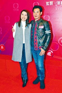 黃智賢跟陳煒合作拍劇,大飽口福。