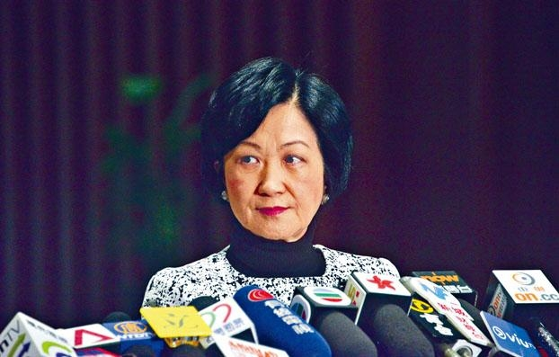 葉劉淑儀撰文批評領展變賣資產,她相信是收到「恐嚇」的原因。