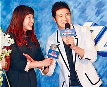 周繼紅和田亮去年同台出席活動,傳媒形容「一笑泯恩仇」。