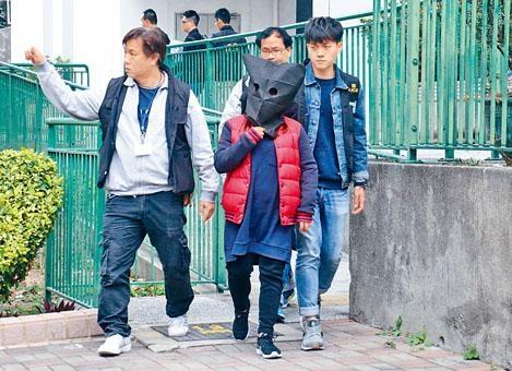 警方在屯門拘捕涉案女子。