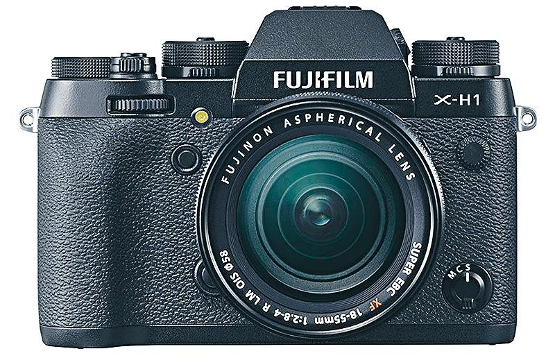 Fujifilm無反防震加身