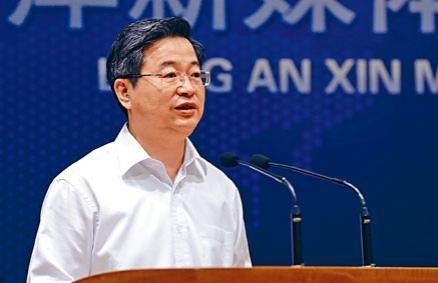 傳武漢書記陳一新擔任福建省長。