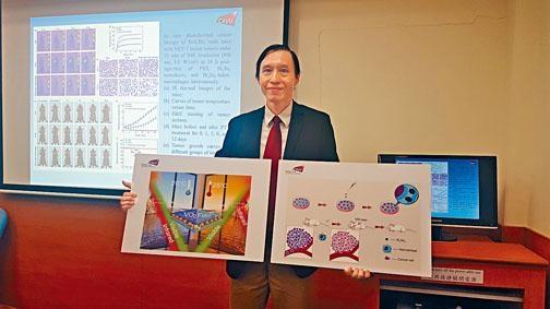 城大朱劍豪教授將光學的研究理論轉化成應用技術,包括研發智能玻璃及光學癌症治療技術。
