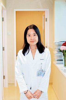 養和醫院營養師鄭智俐。
