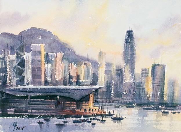 沈平對香港懷有很深的感情。