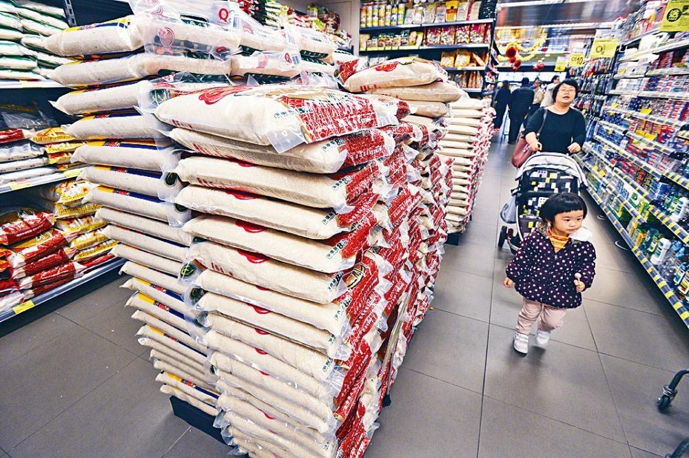 食安中心放寬食米中的鎘最高含量。