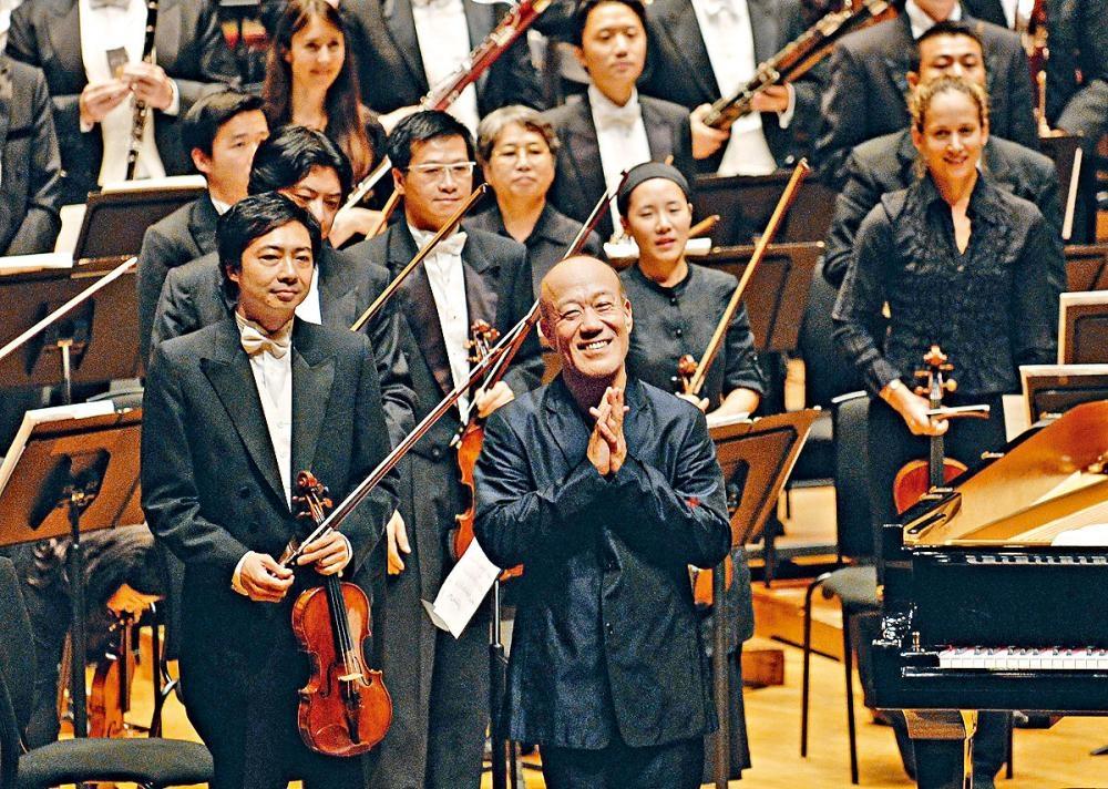 久石讓再次來港獻技,圖為其二〇〇六年香港演出。