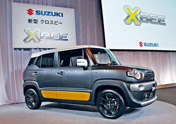 XBee曾於去年東京車展露面,本月才正式開賣。