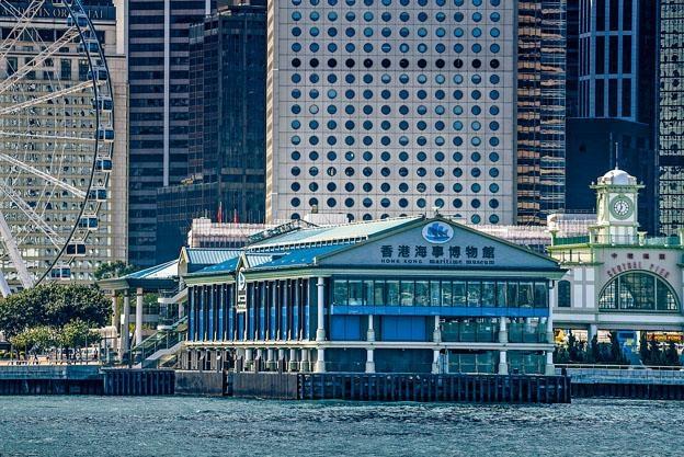 香港海事博物館從赤柱搬到中環八號碼頭,臨海的優越條件不改,交通更加方便。