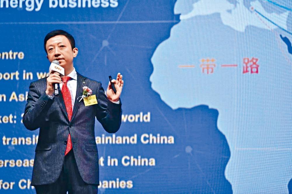 ■海航創新金融集團副董事長兼總裁郭可表示,將致力提升人民幣在國際貿易中的流通程度。