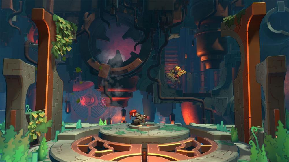 修復繁茂神秘星球《迷城之光 Hob》