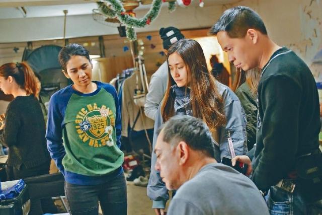 ■陳小娟希望《淪落人》可在今年上映。(由受訪者提供)