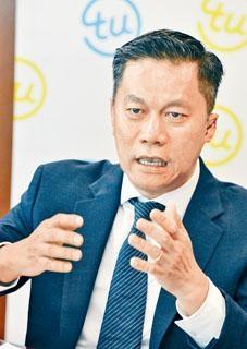 環聯亞太區總裁莊永楷表示,已積極與銀行商討合作的可能性。