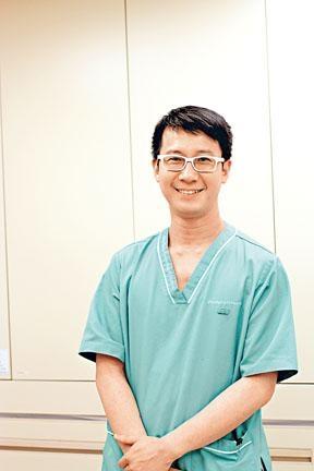 養和醫院義肢矯形師梁永健。