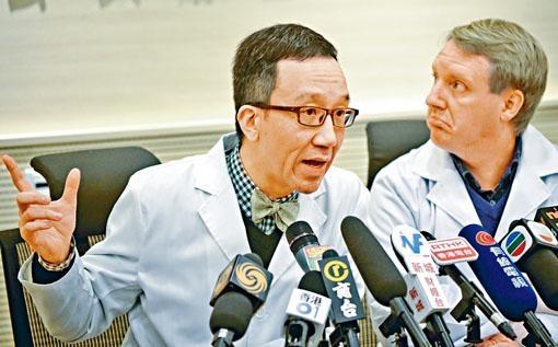 ■梁卓偉重申,估算現時流感疫苗有效率達到六成六。